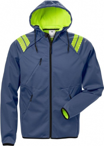 Fristads Hooded Softshell Jacket 7461 BON (Blue)